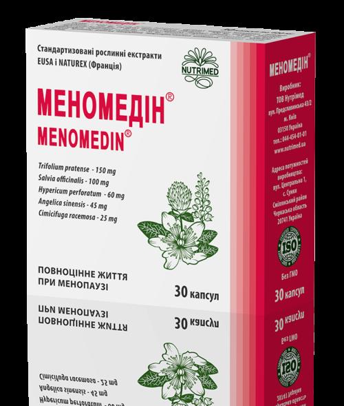 Меномедін 30 капсул