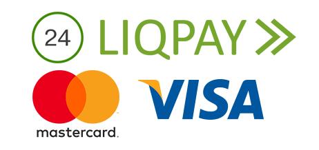 Оплата карткою на Liqpay