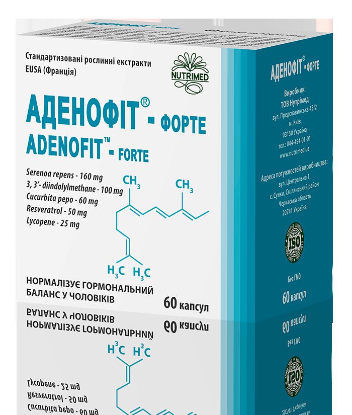 АДЕНОФІТ-ФОРТЕ 60 капсул